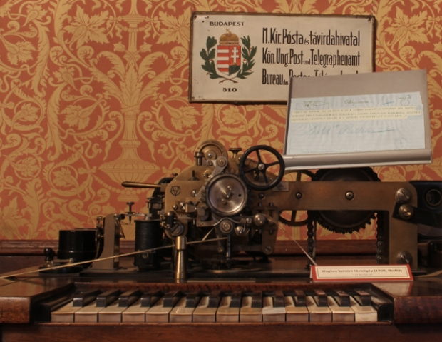 Hughes betűíró távírógép 1908-ból