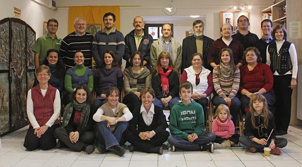 gyülekezeti csoportkép - 2012