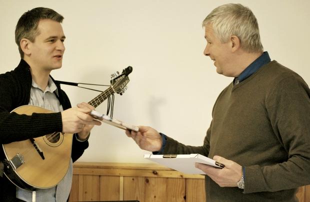 dr. Kováts György tanítását hallgathatta a gyülekezet, Péter volt a moderátor