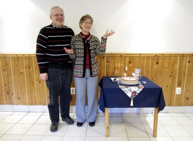 A januári születésnaposokat ünnepeltük