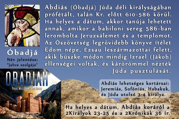 Abdiás próféta könyve
