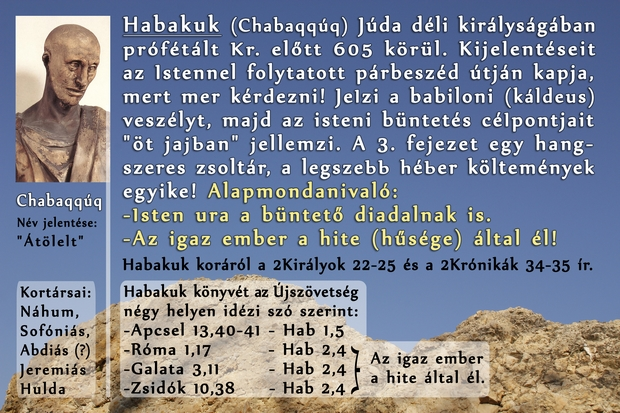 Habakuk próféta könyve, Prophet Habakkuk