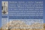 Malakiás próféta könyve, Prophet Malachi