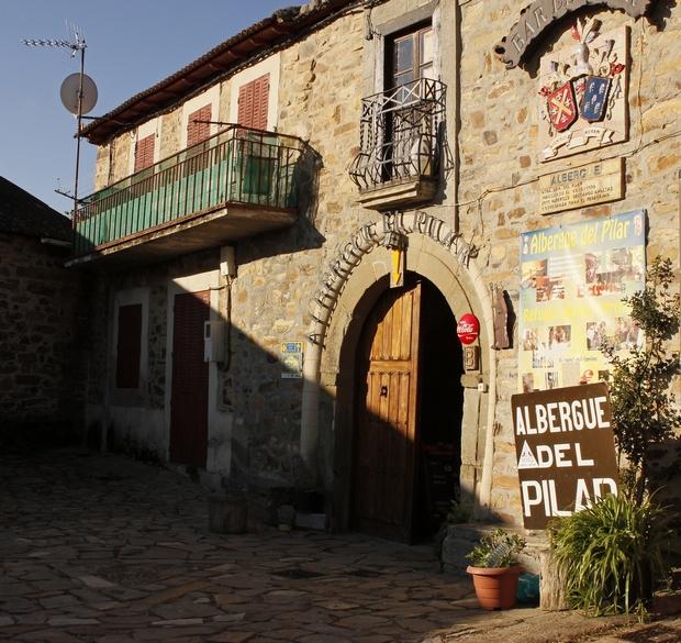Rabanal del Camino - az egyik népszerű zarándokszállás