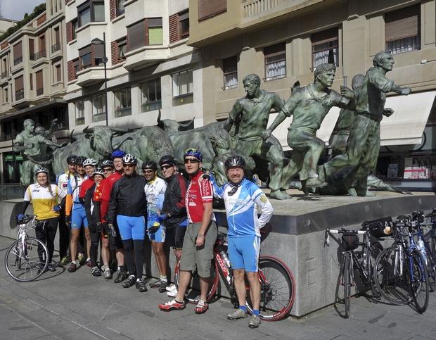 Pamplona, az első állomásunk Spanyolországban