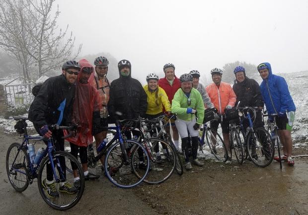 A galiciai hegyekben havazott