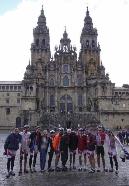 Santiago de Compostela, esőben értünk célba