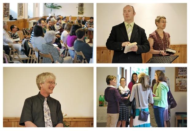 A Spring Arbor Egyetemről érkezett vendégeinkkel töltöttük a vasárnap délelőttöt is
