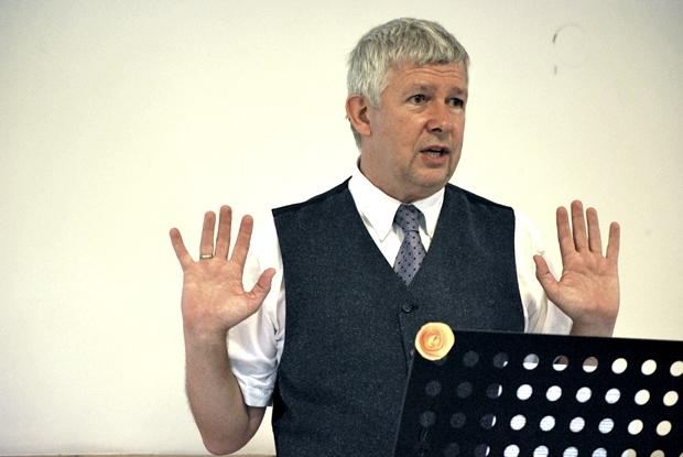 Dr. Kováts György volt gyülekezetünk vendége