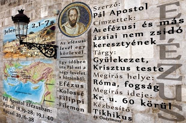 Pál Apostol levele az efézusiakhoz. Az Efézusi levél nem csak az efézusiaknak szólt.
