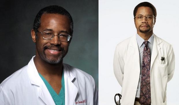Dr. Ben Carson és Cuba Gooding Jr.