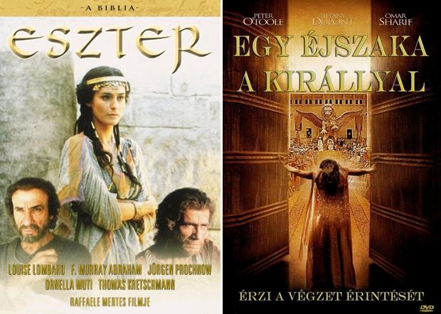 Mindkét film alapját a bibliai Eszter könyve adta