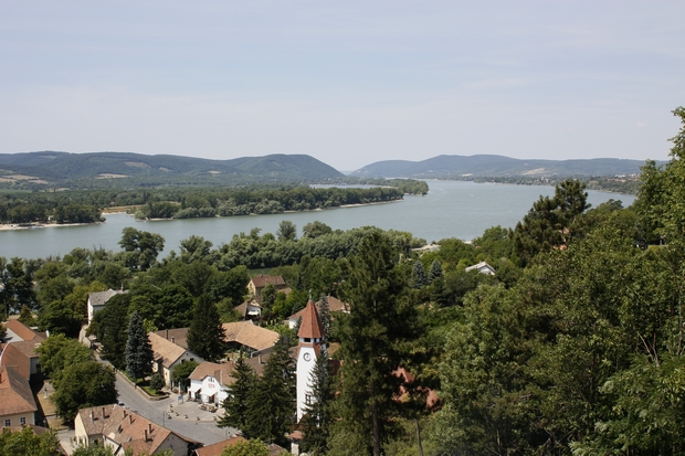 Kilátás a Kálvária-dombról