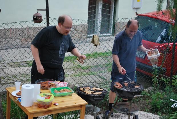 Grillmestereink gondoskodtak a finomságokról