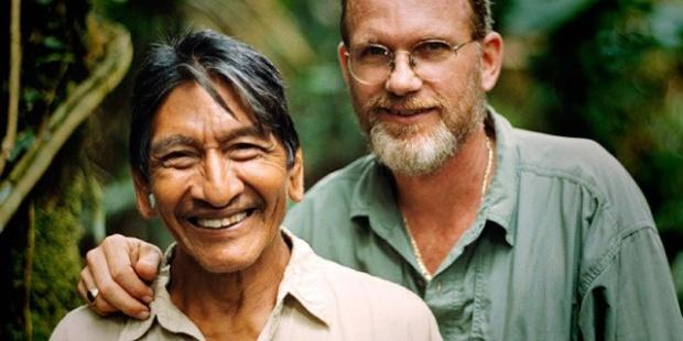 Mincayani és barátja, Steve Saint