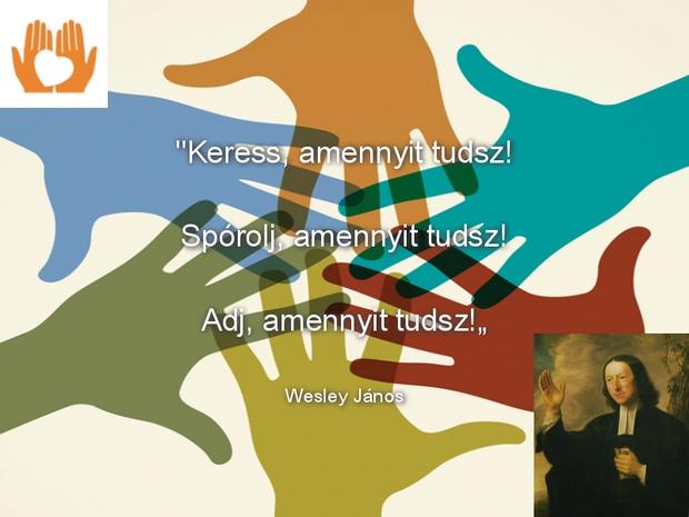 Engedelmes élet, Wesley János