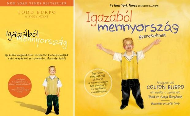 A mennyország kis szemtanújának történetéről két könyv jelent meg