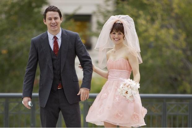 A film főszereplői Channing Tatum és Rachel McAdams