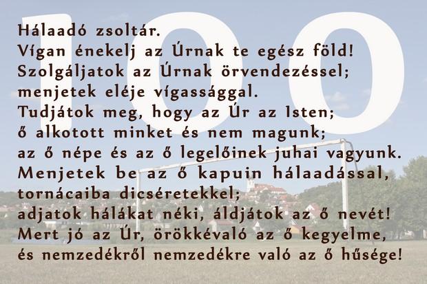 100. Zsoltár