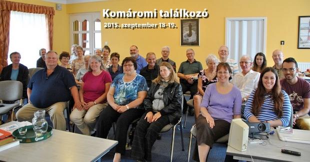 A gyülekezeti hétvégén a győri és a budapesti gyülekezet tagjai vettek részt